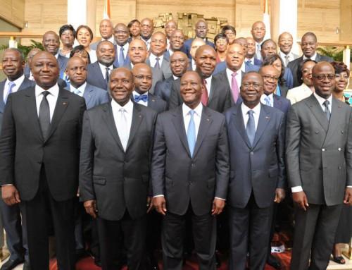 Nouveau Gouvernement: Le chef de l´état invite l´équipe de Daniel Kablan Duncan à l´efficacité et aux résultats