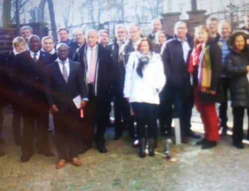 Visite de Travail d'Hommes d'Affaires de la Région du nord de l'Allemagne à l'Ambassade