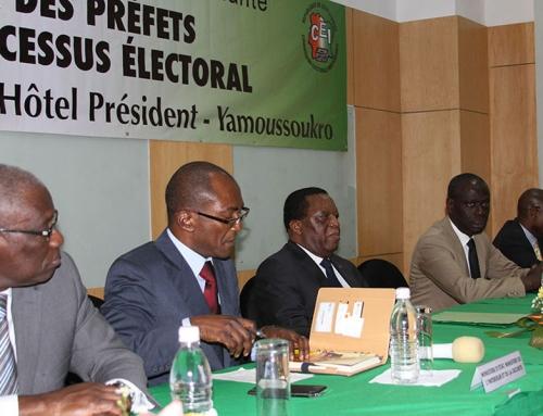 Election du Présidentielle 2015: La CEI forme le corps préfectoral au mode opératoire