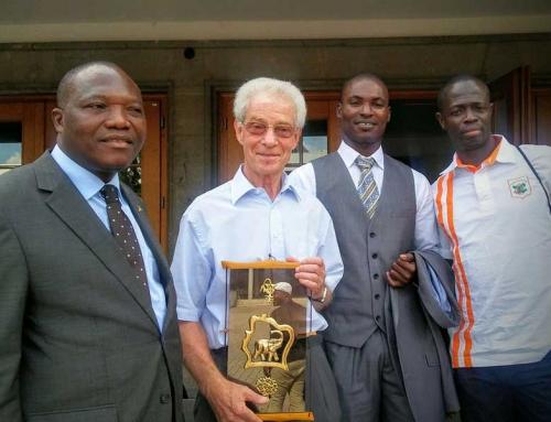 Remise des diplômes aux professeurs de sports ivoiriens